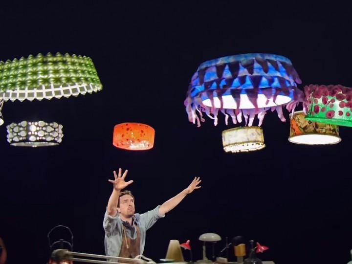 Квадрокоптеры заинтересовали Cirque du Soleil