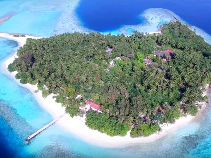 Мальдивы съемка квадрокоптер DJI Inspire