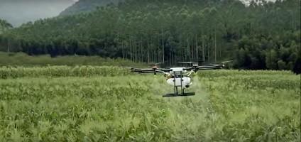 Компания DJI представила дрон для фермеров за 15 тысяч долларов