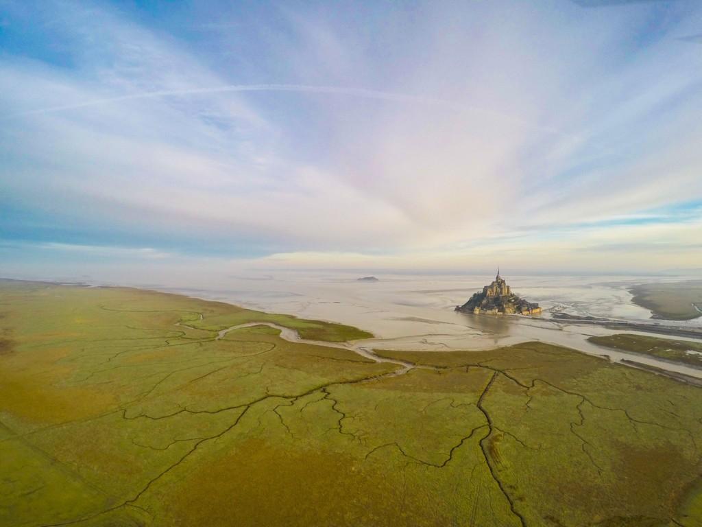 Мон Сен-Мишель - Остров Крепость, Нормандия, Франция