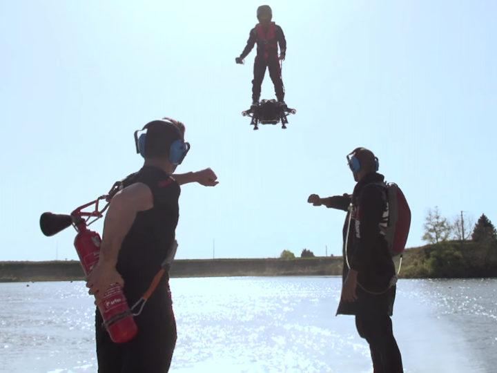 Flyboard Air-доска, на которой можно летать стоя!