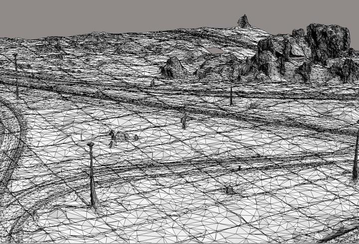 Досъемка прилегающих территорий с использованием программы Bentley Context Capture на примере участка автомобильной дороги