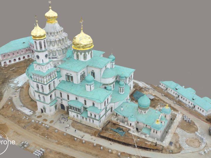 Съемка памятника архитектуры — Ново-Иерусалимского монастыря. Новейшие технологии и древнейшая религия.