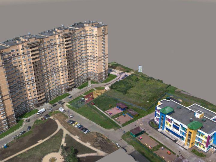 3D моделирование городской застройки