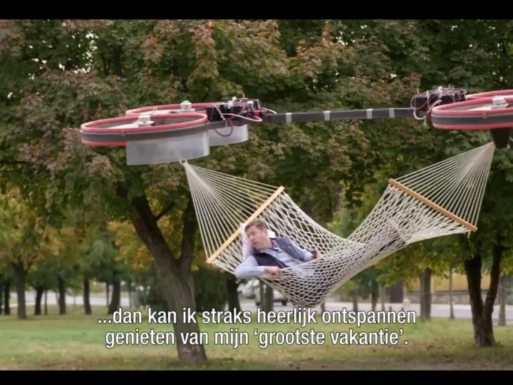 Голландский летающий гамак